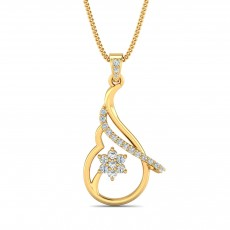 22k (916) Yellow Gold Pendant Signature Collection