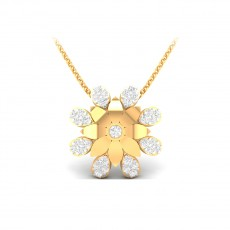 Alluring Exclusive Fancy pendant 22kt Yellow Gold Pendant