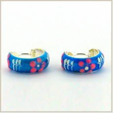 Fancy Baby Earring Blue