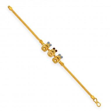 Fancy Casting Baby Bracelet