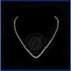 Platinum Mens Cut Chain