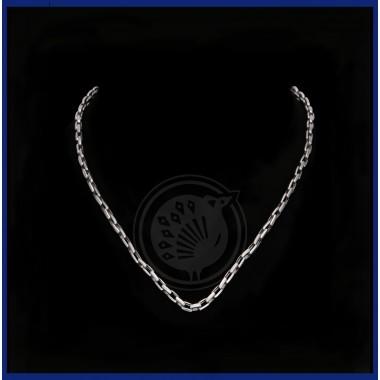 Platinum Mens Cut Chain