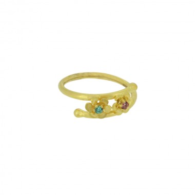 LADIES FLORA RING