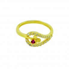 Ladies Zircon Ring