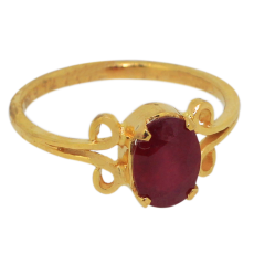 Ruby Ladies Realtone ring