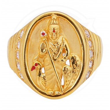 Lord Muruga Gents Ring