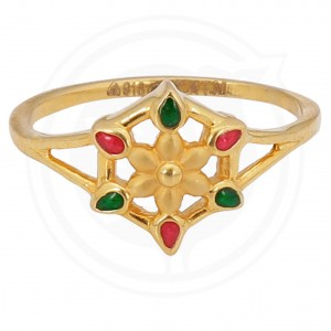 Womens casting Gold Ring