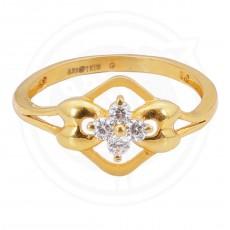 Ladies Casual Zircon Stone Ring
