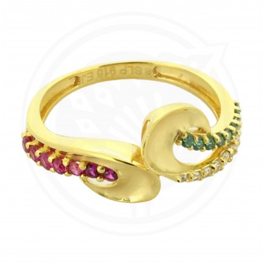 Designer Zircon Ring