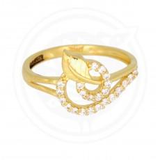 Fancy Casting Leaf  Ring