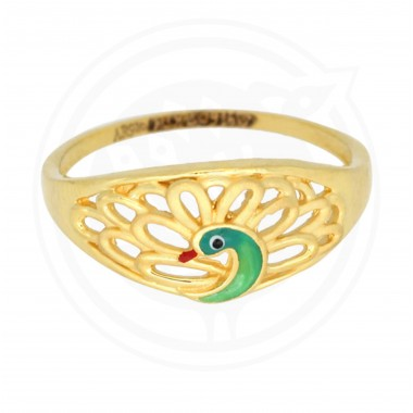 Fancy Peacock Ring