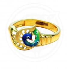 Fancy Peacock  Ring