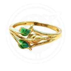 Fancy Enamel Casting Ring