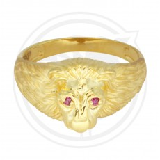 Gents Lion Face Ring (Singham Ring)