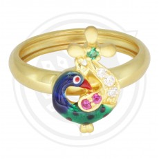 Ladies Peacock Ring