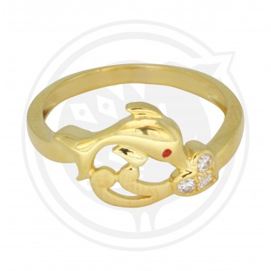 Women's Dolphin Ring