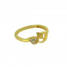 Ladies Zircon Ring