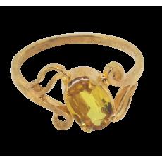 ladies Realstone 22k gold Ring