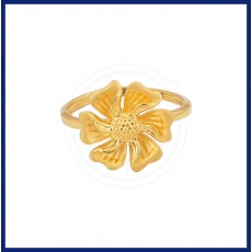 Ladies Flower Casting Ring