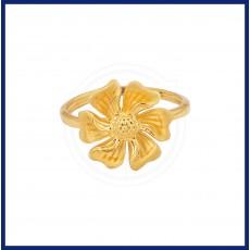 Ladies Flower Casting Ring