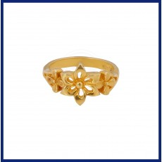 Ladies casual flower Ring