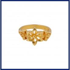 Ladies casual flower Ring