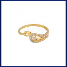 Special Casting Zircon Ladies Ring