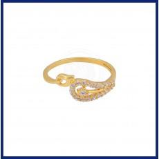 Special Casting Zircon Ladies Ring