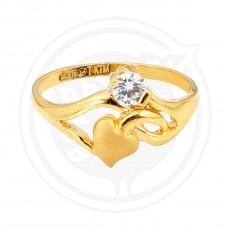 Zircon Stone Ladies Ring