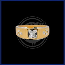 Diamond Ring - Gents (18 k)