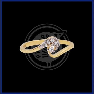 Fancy Diamond Women's Ring