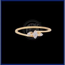 Women's Diamond ring (18 K)