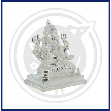 Aurora Silver Lord Ganesh Idol