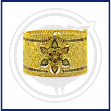 Bengal Fancy Broad Bangle