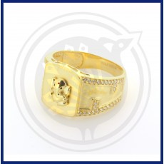 Lord Ganesh Gents Ring
