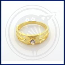 Fancy Gents Zircon Ring