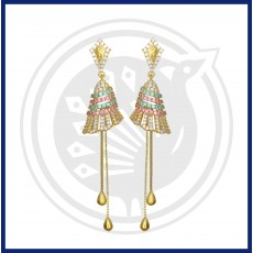 Fancy Jhumki stud & Drops