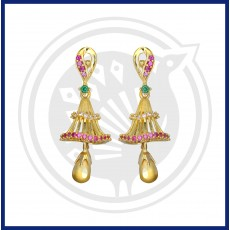 Fancy Jhumki Casting Stud & Drops