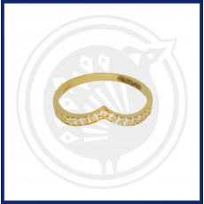 Casual Zircon Ring