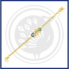 Fancy Flower Casting Bracelet