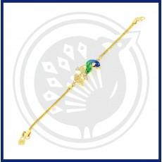 Fancy Peacock Bracelet