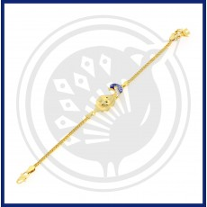 Fancy Peacock Casting Bracelet