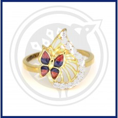 Fancy Casting Butterfly Ring