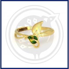 Fancy Leaf Casting Ring