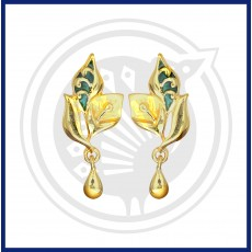 Fancy Enamel Stud & Drops