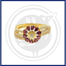Fancy Zircon Stone Ring