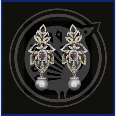 Fancy Diamond Stud & Drops