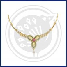 Tanujaa Fancy Zircon Necklace