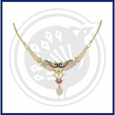 Tanujaa Stylish Peacock Necklace