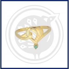 Fancy Heart-in Ring